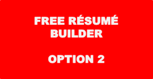 Free Resume Builder - Option 2