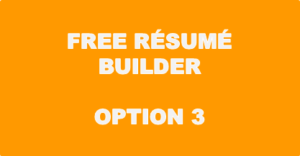 Free Resume Builder - Option 3