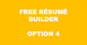 Free Resume Builder - Option 4
